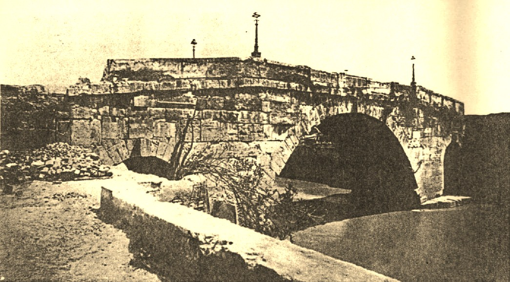 1892 Decostruzione di ponte cestio