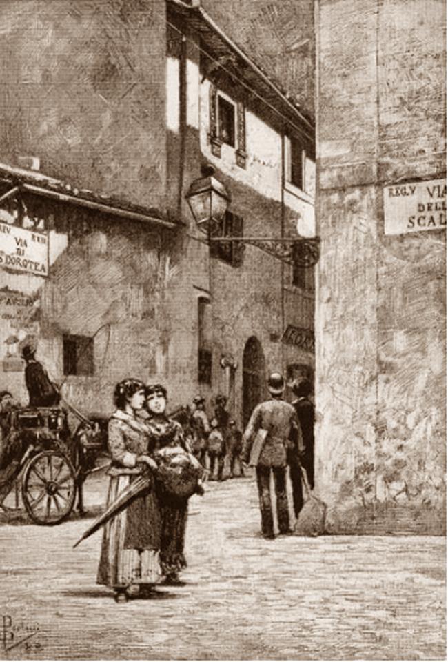 Illustrazione di Dante Paolocci 1883